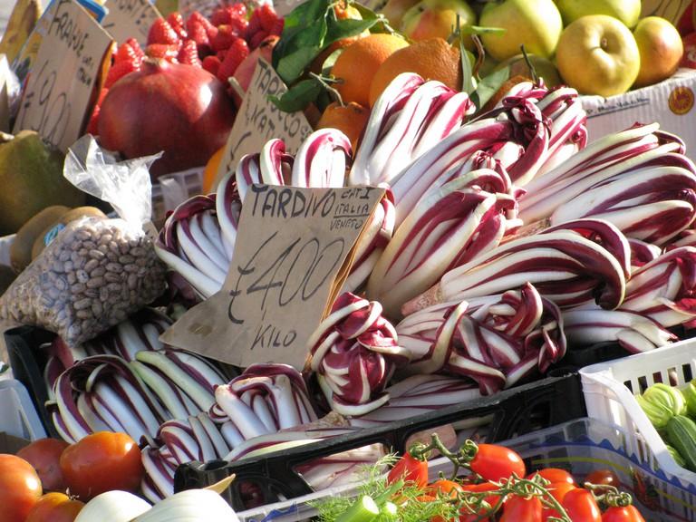 Venice's produce market