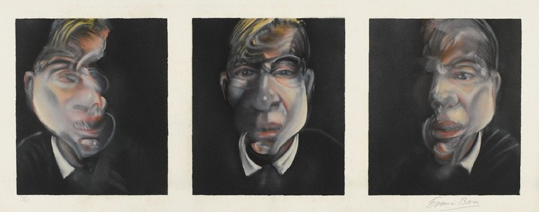 [ B ] Francis Bacon - Three studies for a self-portrait (1981) | © cea +/Flickr