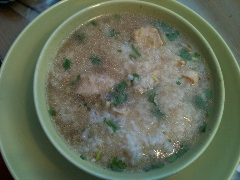 Thai Porridge with Chicken