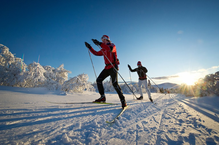 Cross-country skiing in Trysil