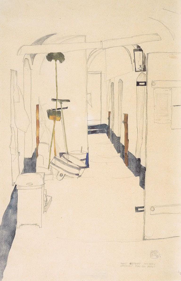 Egon Schiele, Nicht gestraft, sondern gereinigt fühl ich mich 20-04-1912