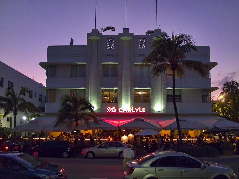 The Carlyle Hotel on Ocean Drive