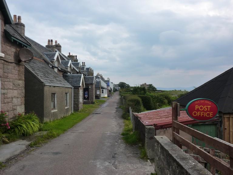 Busy Street on Iona