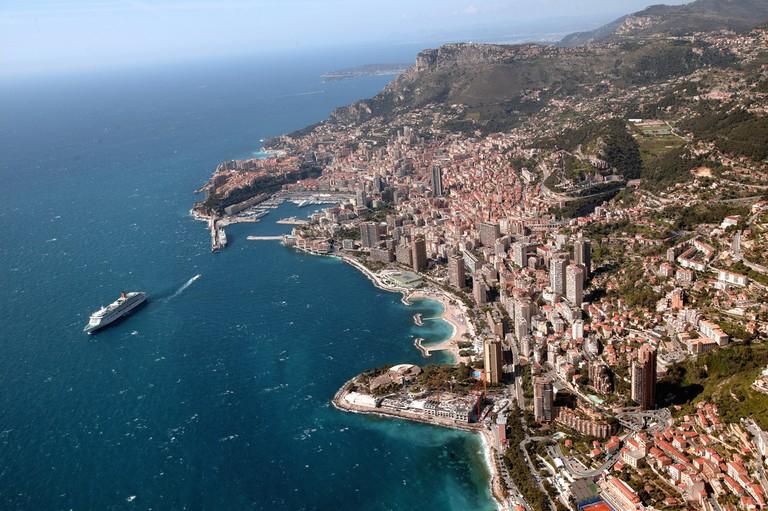 Aerial View Monaco