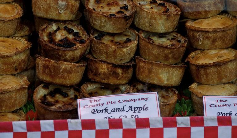 Assorted Pies At Food Market | © Martin Pettitt/Flickr