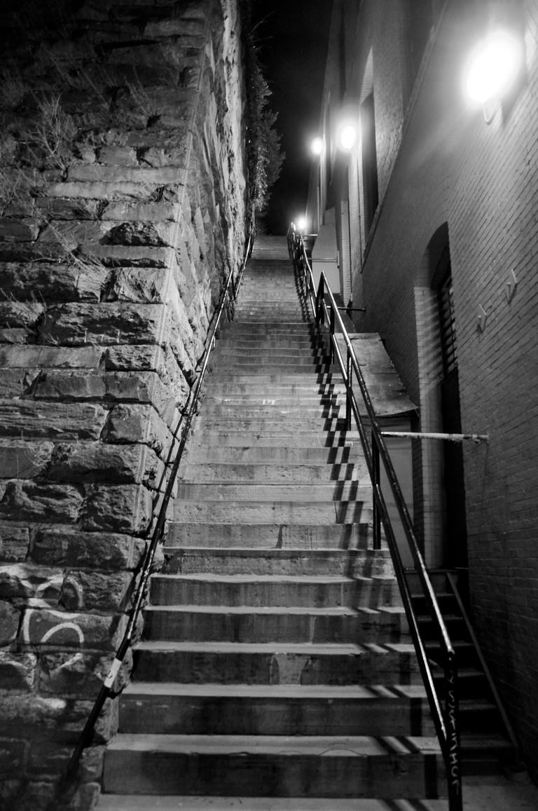 """The Exorcist"" steps"