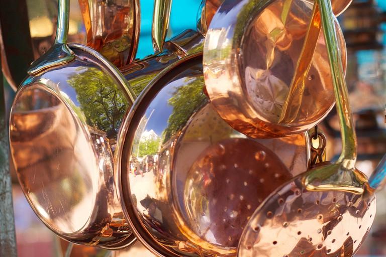 Copper pots | © McKay Savage / Flickr