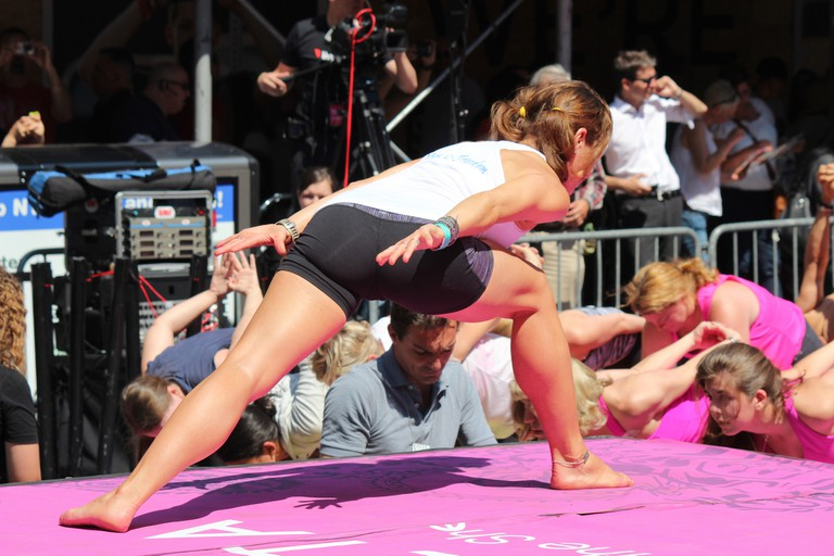 Stretch and sweat your way into summer with yoga in Times Square