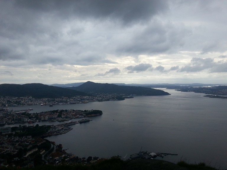 The view from Sandviksfjellet