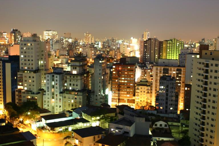 São Paulo skyline at night