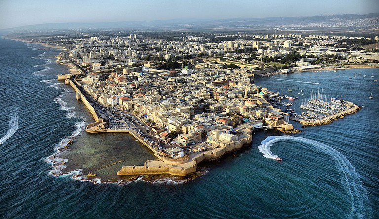 The old port of Acre (Akko) in northern Israel