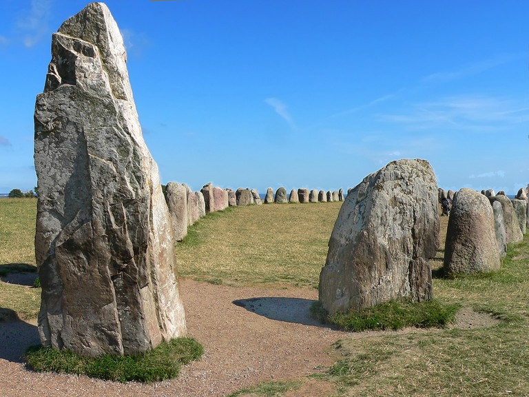 Ale's Stones date back to the Nordic Iron Age