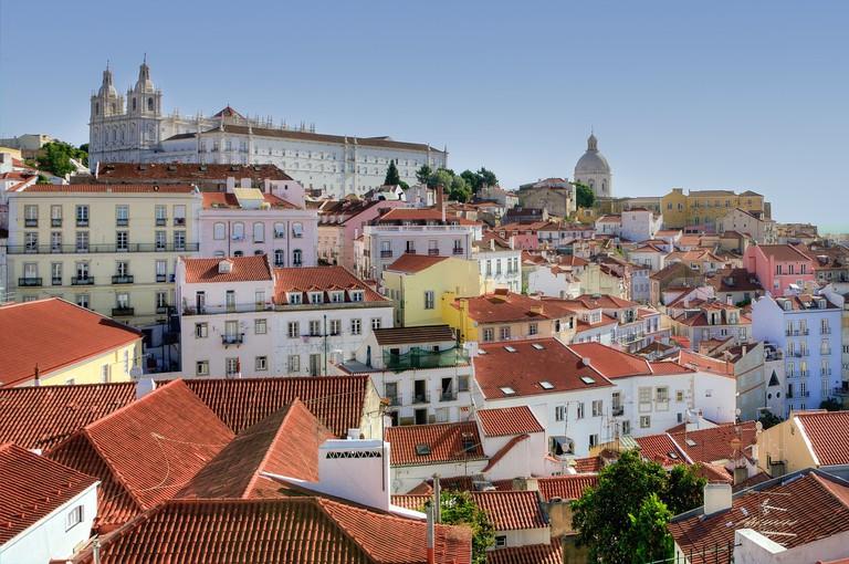 Alfama is the oldest neighborhood in Lisbon