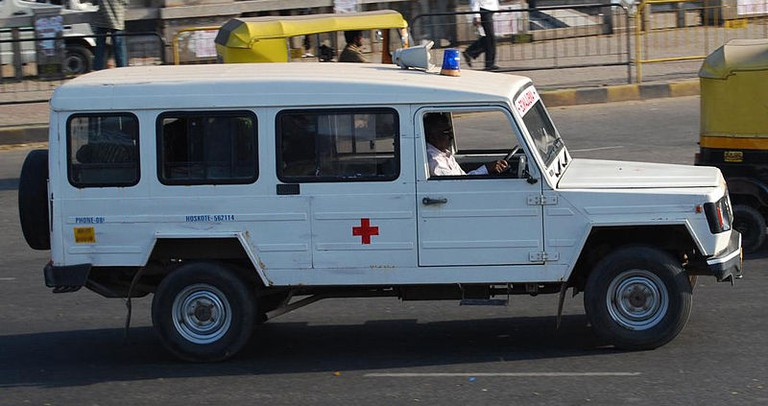 Ambulance in India