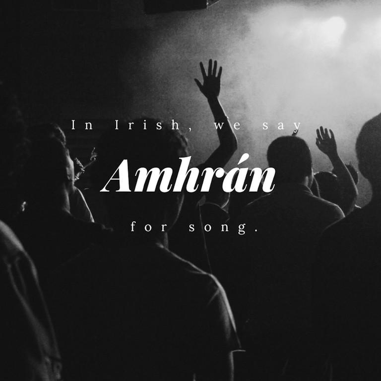 Amhrán - Song