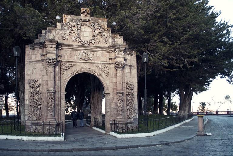 Park in Sopocachi