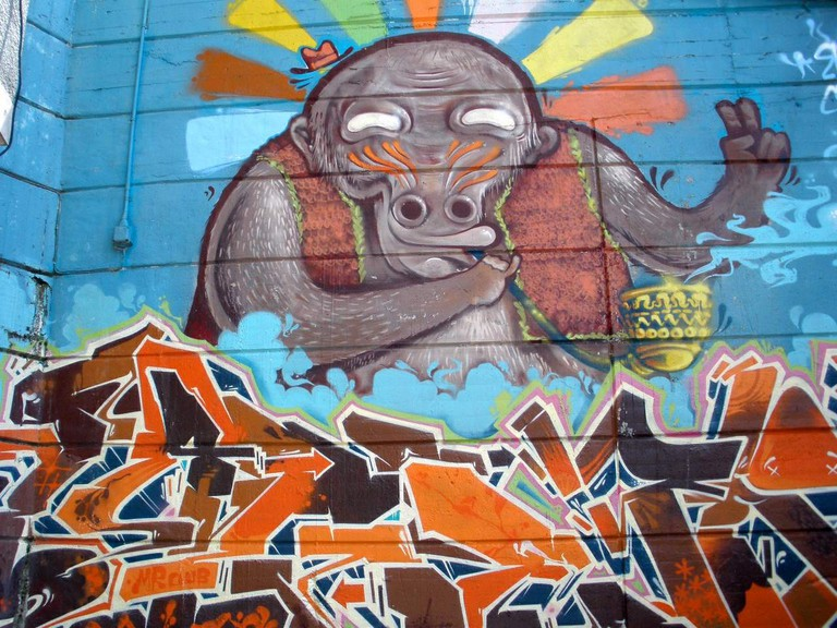 Street art in Santurce | © Zarateman/WikiCommons