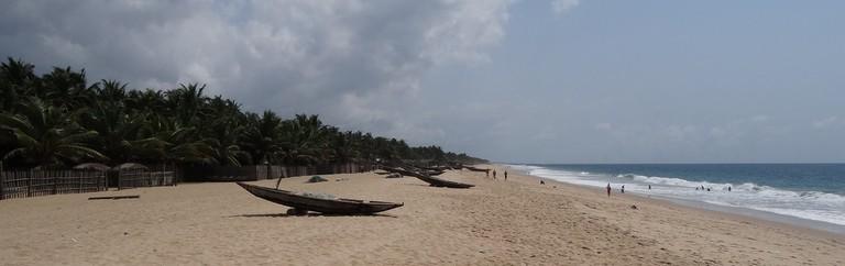A Lagos beach
