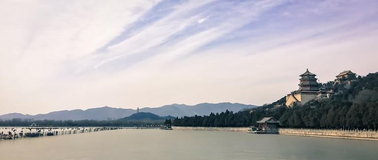 Panoramic View from Kunming Lake