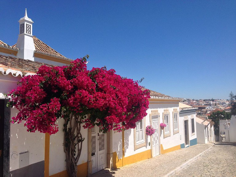 One of Tavira's beautiful streets.