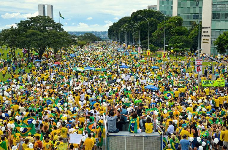 Protests against corruption