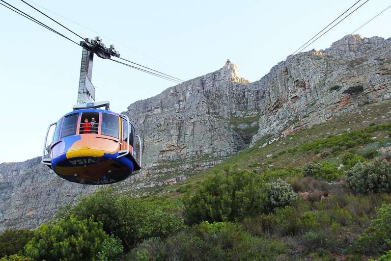 Take the cable car for amazing views of the city