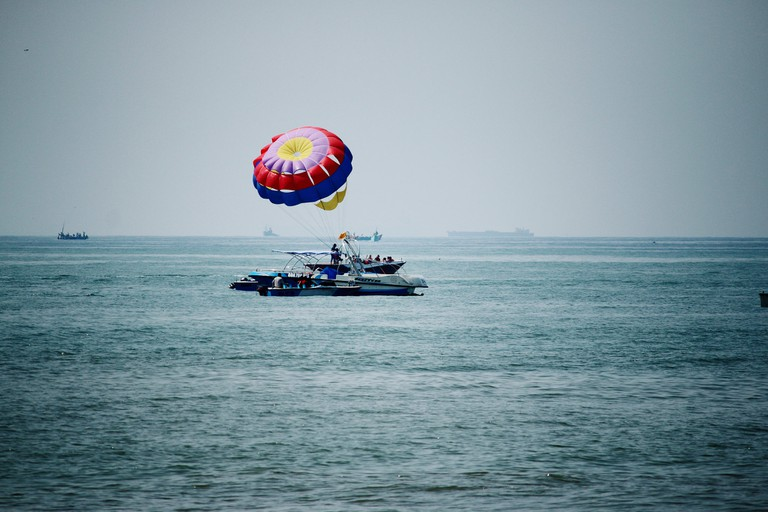 Water sports at Calangute Beach