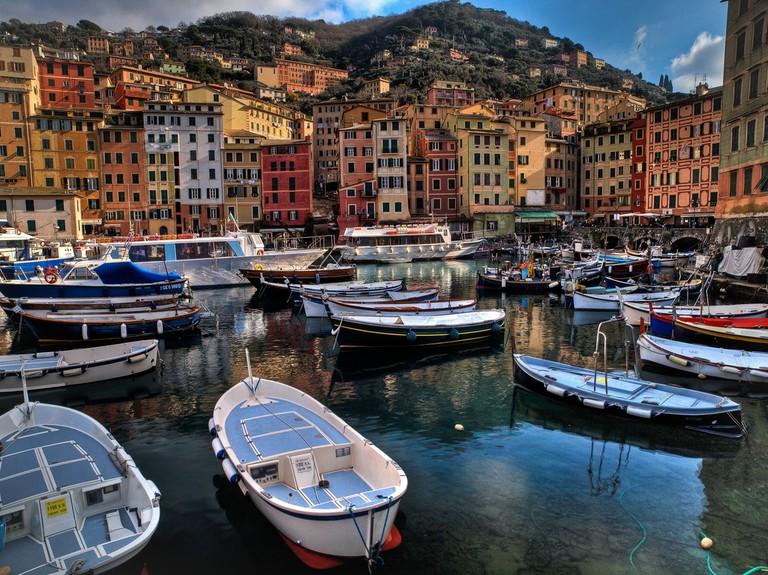 Italy, beach, beach town