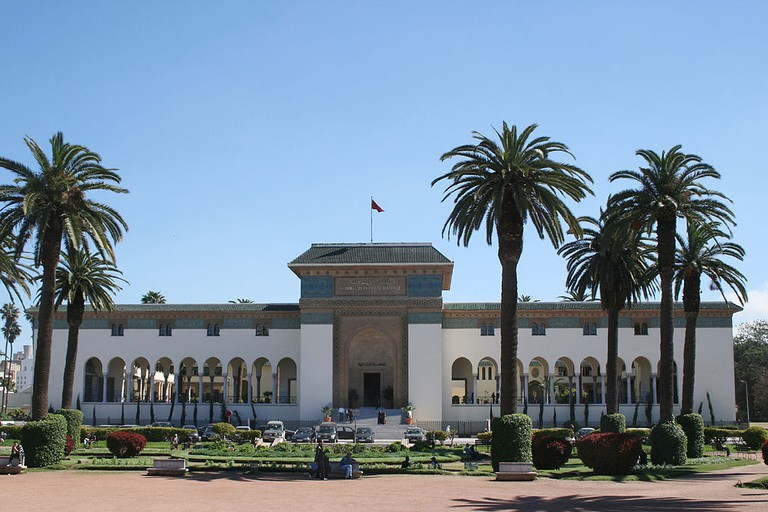 Court in Casablanca