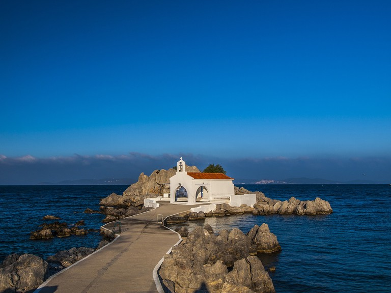 Agios Isidoros church, Chios, Greece