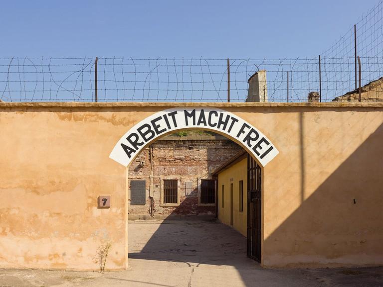 Terezin entrance