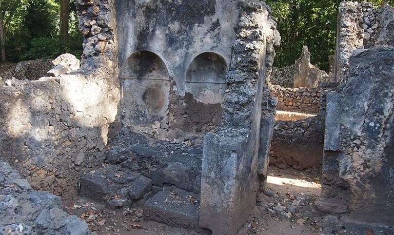 Gedi Ruins | © Wikimedia Commons
