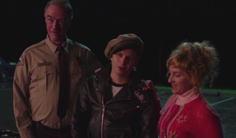 Andy (Harry Goaz), Wally (Michael Cera), and Lucy (Kimmy Robertson)