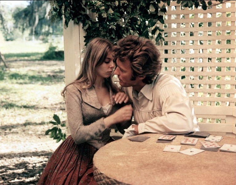 Jo Ann Harris and Clint Eastwood in the 1971 'Beguiled'