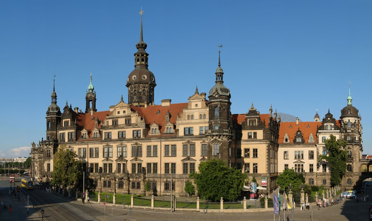 Royal palace, Dresden, which dates back to the 15th century as home to the royal family