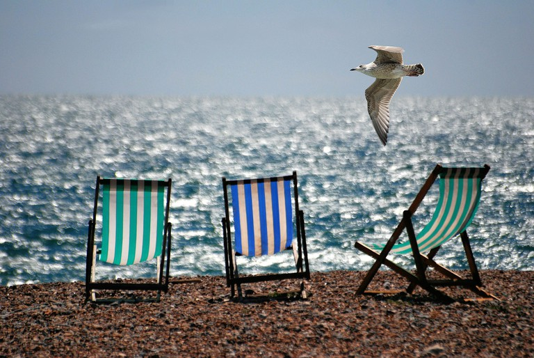 Beach chairs | © Steve Bidmead/Pixabay