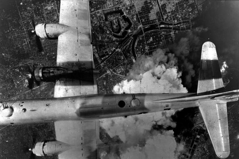 Allied bomber, Dresden