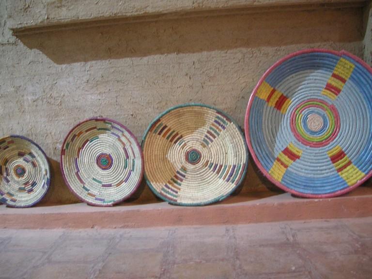 Traditional basket weaving of Khuzestan | © Pontia Fallahi