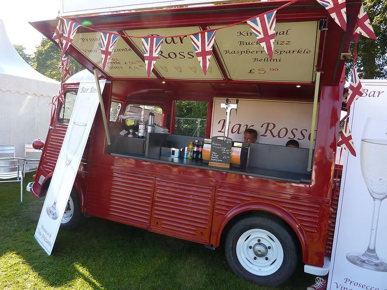 Cocktail Truck At Edinburgh Food Festival   © WikiCommons