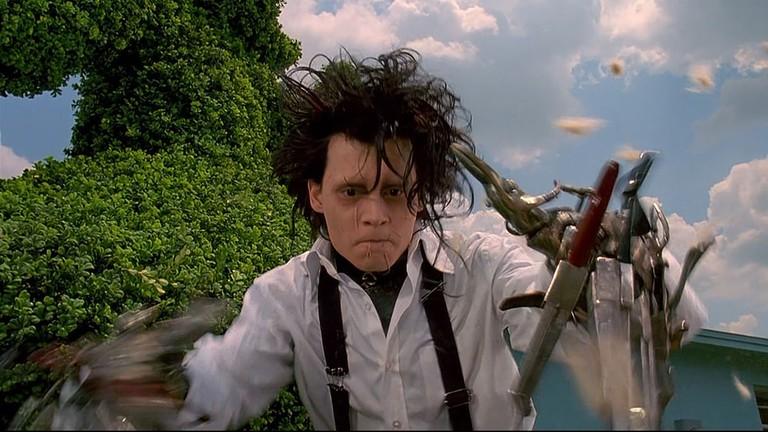 Johnny Depp in 'Edward Scissorhands'