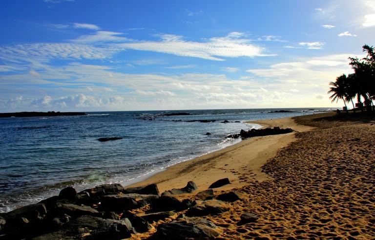 El Escambrón beach