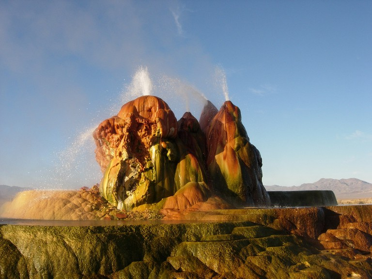 Fly Geyser in Nevada | © Ken Lund / Flickr