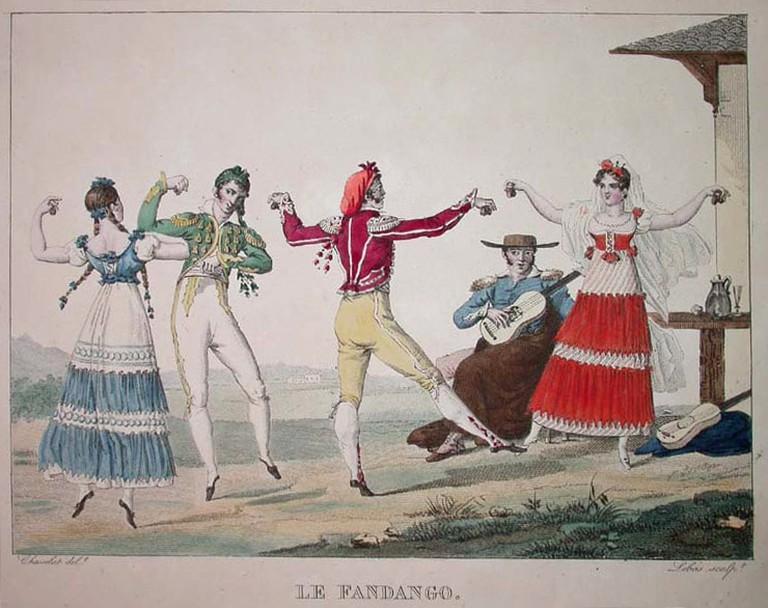 Pierre Chasselat, 'Le Fandango', circa 1810