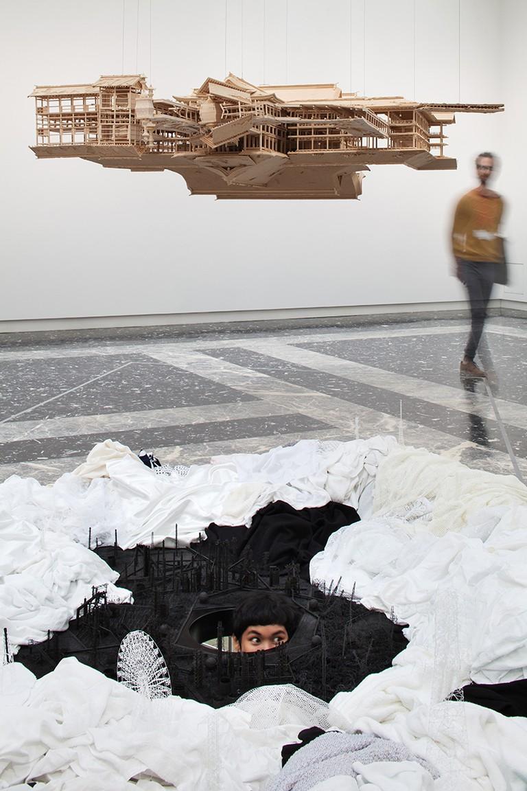 Turned Upside Down, It's a Forest, Japan Pavilion, Viva Arte Viva