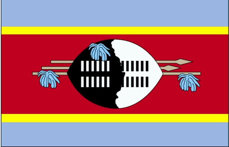 Flag of Swaziland | ©Public Domain Images/WikiCommons