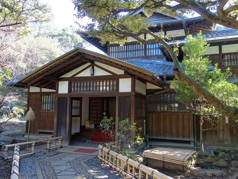 Part of the Maeda family house
