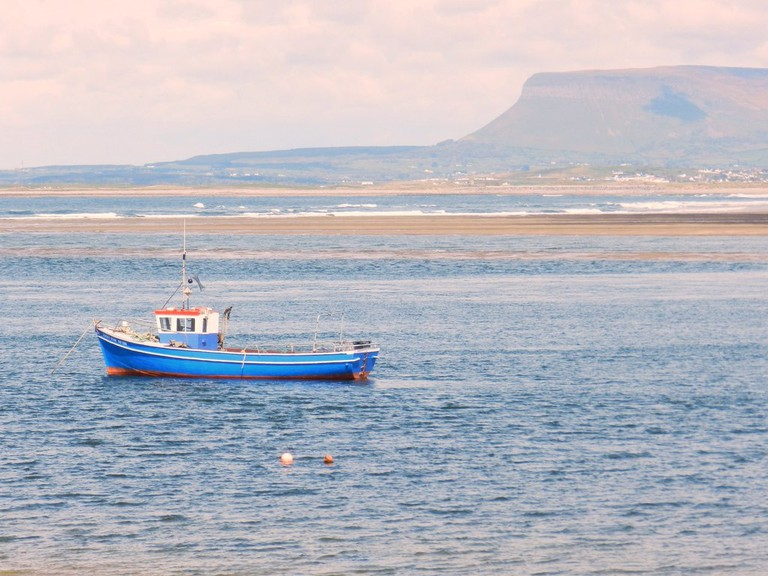 Ben Bulben viewed across Sligo Bay