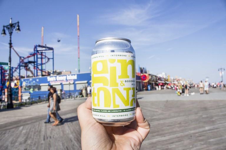 Interboro canned gin & tonic