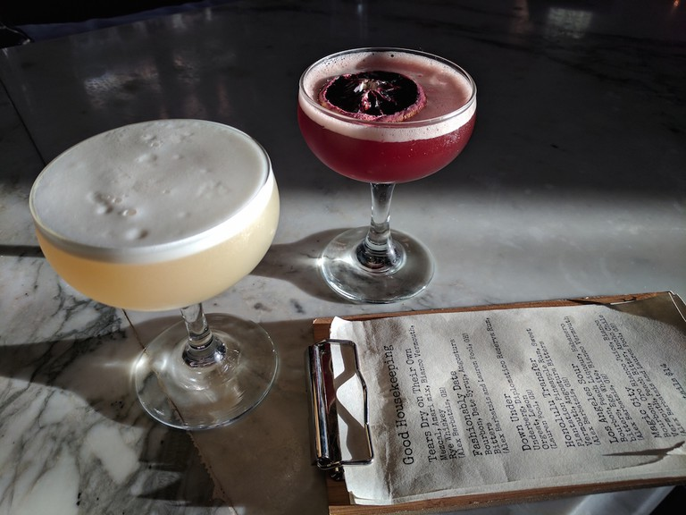 Cocktails at Good Housekeeping