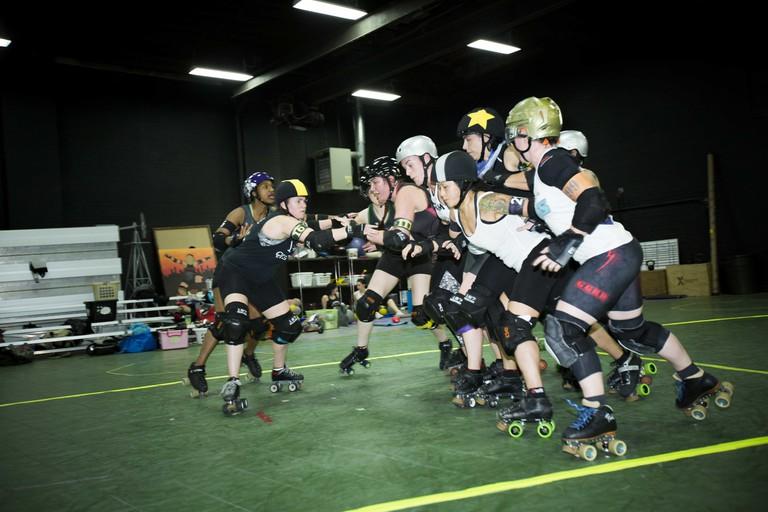 Gotham Girls Roller Derby scrimmage | © Amanda Suarez/Culture Trip